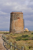 Ancient don garcia tower — Stockfoto