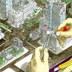 Super glue for super architector — Stock Photo