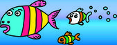 Several fishes — Stock Photo