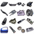 Stock Photo: Car parts