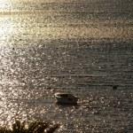Boats on Adriatic Sea - Sunset — Stock Photo