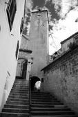 Clock tower in Omis — ストック写真