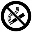 Smoking ban — Stock Photo #39493235