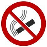 Smoking ban — Stock Photo