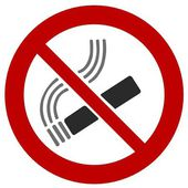 Smoking ban — Stock Photo