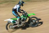 Motorcross — Zdjęcie stockowe