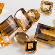 Stock Photo: Citrine