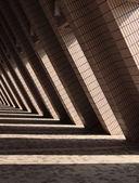 L shaped architecture — Stock Photo