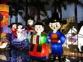 Wedding lanterns — Foto de Stock