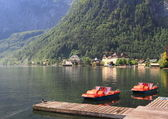 Hallstatt See Lake — Stock Photo