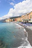 Beach resort of Camogli, Italy — Stock Photo
