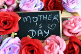 Mother's day sign — Stock Photo
