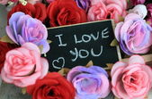 Message of l love you — Foto Stock
