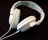 White headphone — Stock Photo