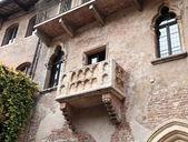 Juliet's balcony in Verona, Italy — Stock Photo