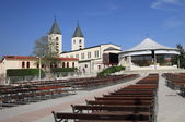 Saint James church of Medjugorje — Stock Photo