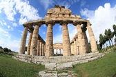 Greek temple of Paestum — Stock Photo