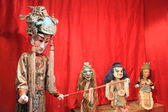 Medieval Chinese puppets — Stock Photo
