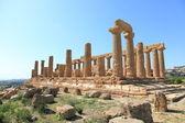 Agrigento tapınaklarda vadisi — Stok fotoğraf