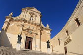 Medieval cathedral of Gozo — Stock Photo