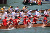 Dragon Boat Race in Tai O — Stockfoto