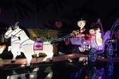 Chinese wedding carnival lanterns — Stock Photo