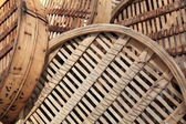 Chinese bamboo steamer baskets — Stock Photo