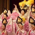 Tang dynasty dance in Xian, China — Stock Photo #50274691