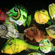 Chinese fish lanterns — Stock Photo #50274903