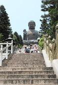 Big Buddha in Hong Kong, China — Stock Photo