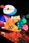 Giant rabbit lantern for autumn festival, Hong Kong — Stock Photo
