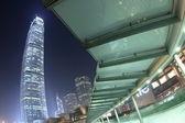 Night in Central, Hong Kong — Stock Photo