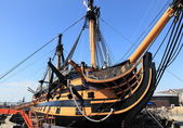 Portsmouth-kriegsschiff — Stockfoto