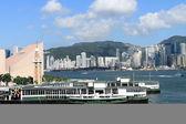 Tsimshatsui pier in Hong Kong — Foto Stock