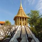 The footprint of the Lord Buddha, Saraburi — Stock Photo