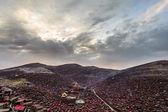 Lharong Monastery of Sertar — Stock Photo