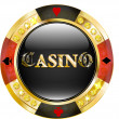 Casino chip — Stock Vector #38128901