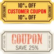 Coupon sale — Stock Vector #39819175