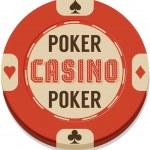 Poker chip. — Stock Vector