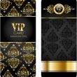 Cтоковый вектор: Elegant template luxury invitation