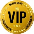 Stock Vector: Vip membership casino icon