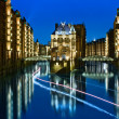 Hamburg Speicherstadt — Stock Photo #39278355