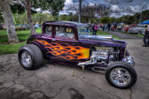 Hot Rod Classic Cars — Stock Photo