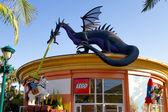 Disneyland Lego Store california HDR — Stock Photo