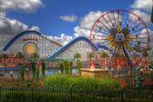 Disneyland California HDR — Stock Photo