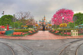 Disneyland california HDR — Stock Photo
