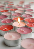 Candles of love — Stockfoto