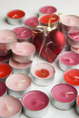 Candles of love — Foto Stock