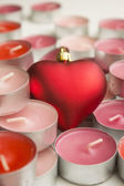 Candles of love — Stock Photo