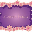 Flowers Frame — Stock Vector #39641569